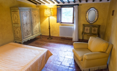 40154) villa le torri rental vacation san gimignano casale vigneti countryside view siena region
