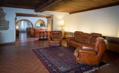 40158) villa le torri rental vacation san gimignano casale vigneti countryside view siena region