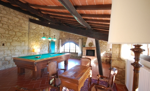 40162) villa le torri rental vacation san gimignano casale vigneti countryside view siena region