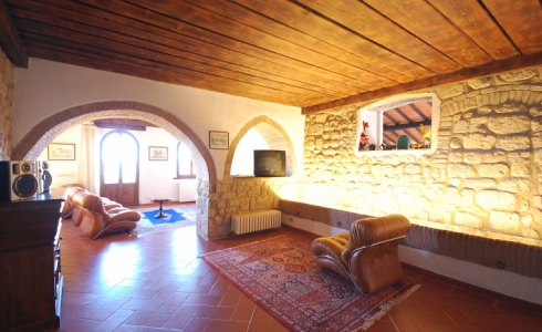 40163) villa le torri rental vacation san gimignano casale vigneti countryside view siena region