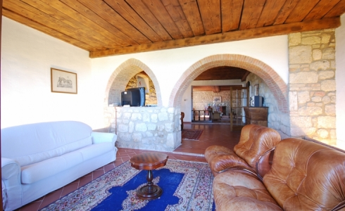 40165) villa le torri rental vacation san gimignano casale vigneti countryside view siena region