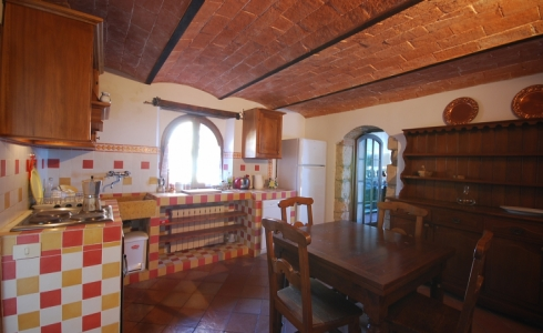 40167) villa le torri rental vacation san gimignano casale vigneti countryside view siena region